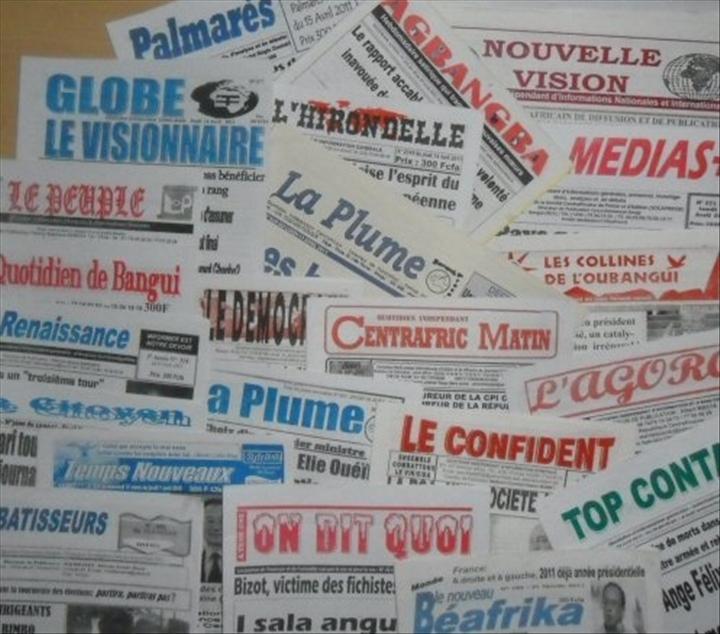info centrafrique presse
